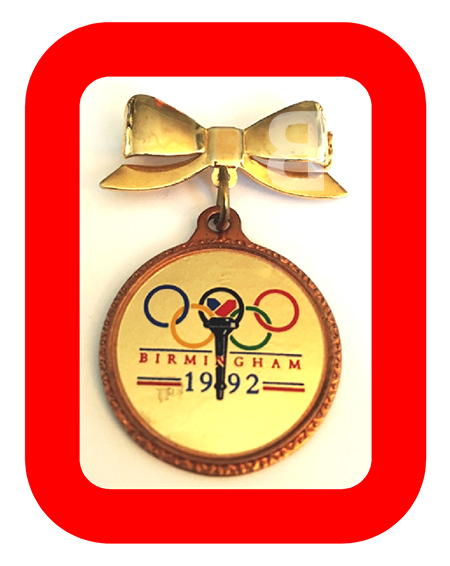 Birmingham 1992 gold medal