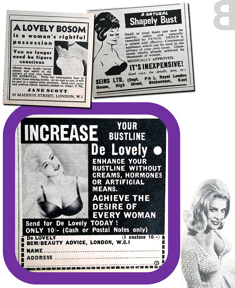bosom or bust - mystery breast enlarger