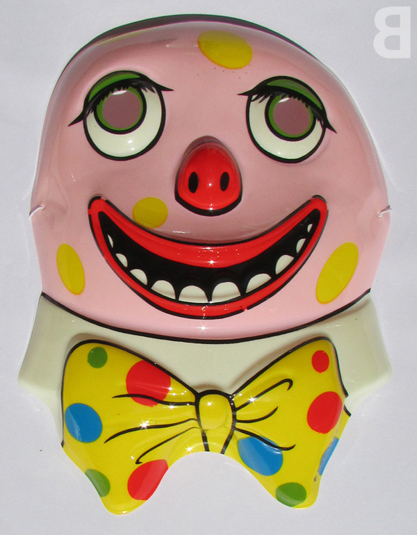 Mister Blobby mask - backcatalogue.blog nostalgia 1990s