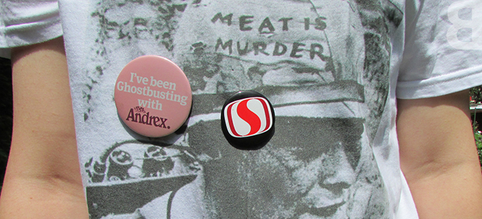 The Smiths badges 1980s