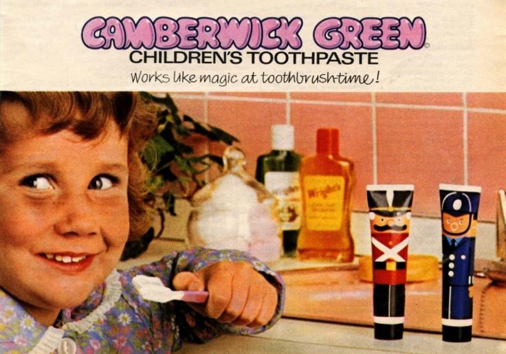 camberwick toothpaste ad copy