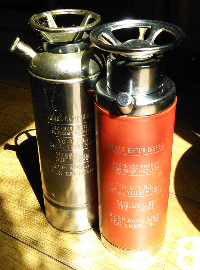 disguise your foibles - thirst extinguisher decanters
